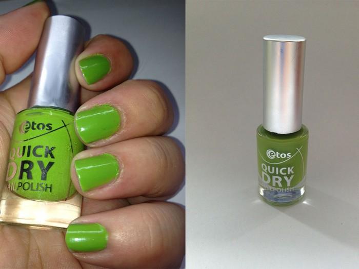 NOTD Etos green