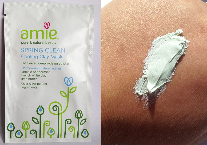 Amie spring clean clay face mask