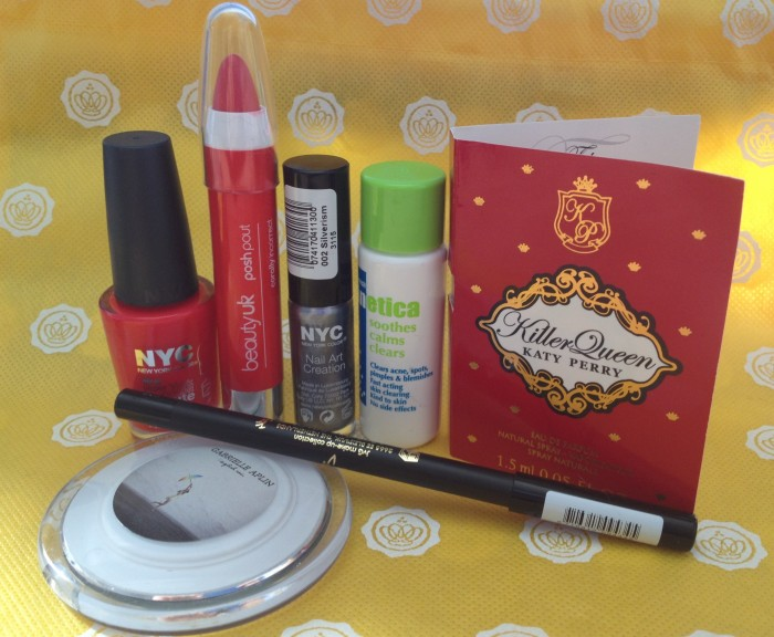 Miss Glossybox September / October 2013