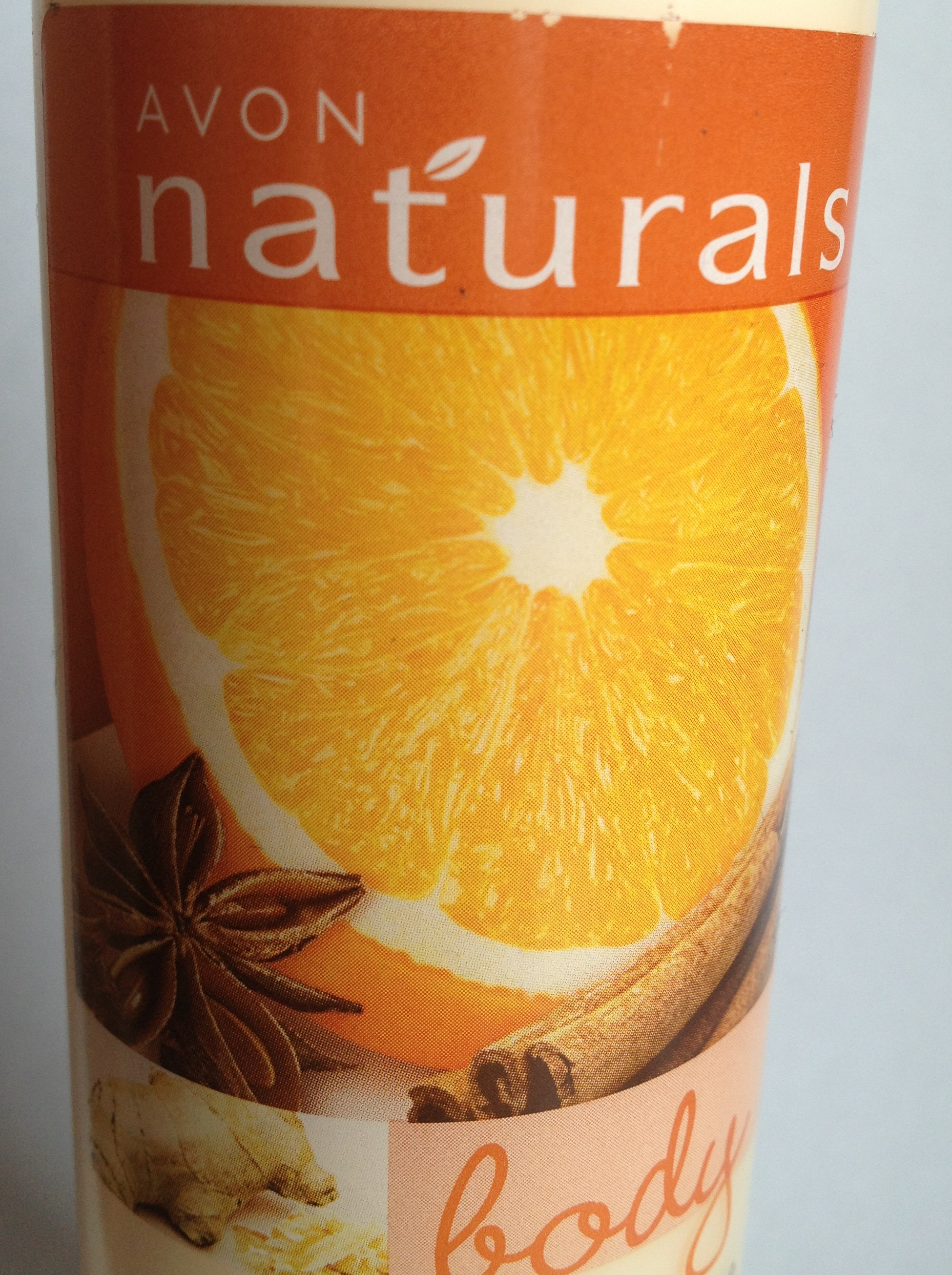 Avon naturals Spiced Orange and Ginger