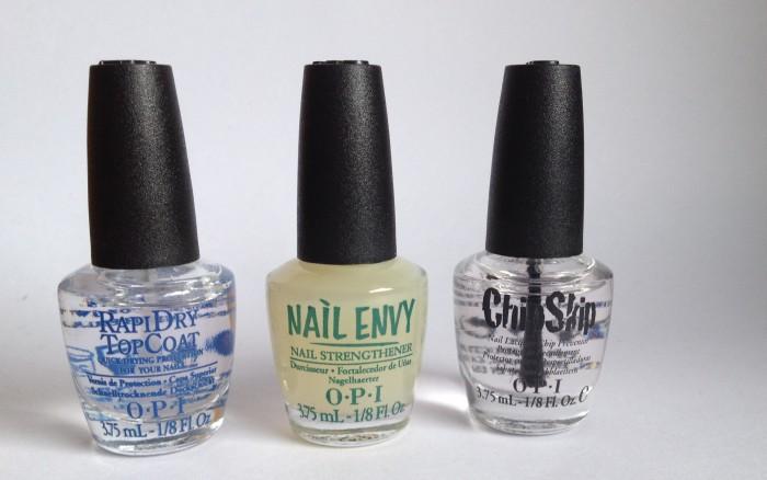 OPI Chip Skip, Nail Envy, Rapidry