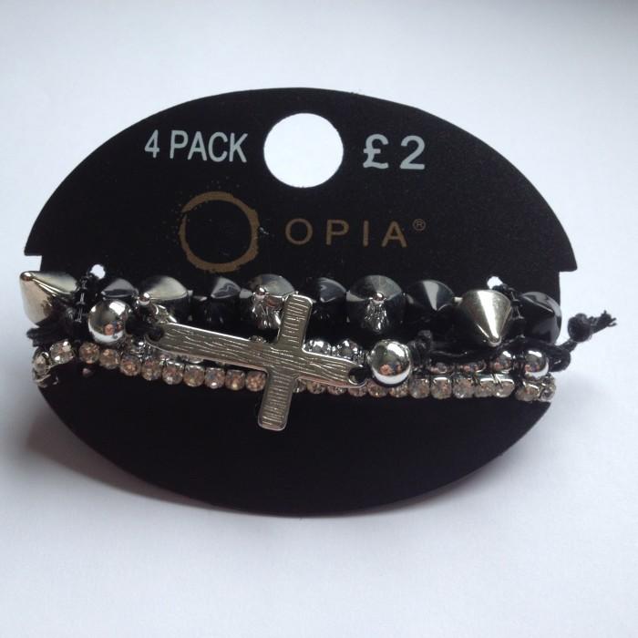 Primark Opia bracelets
