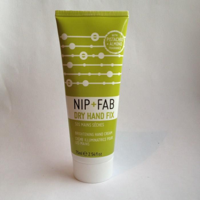 Nib + Fab Dry hand Cream Pistachio