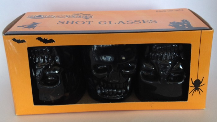 Skull Halloween Shot Glasses