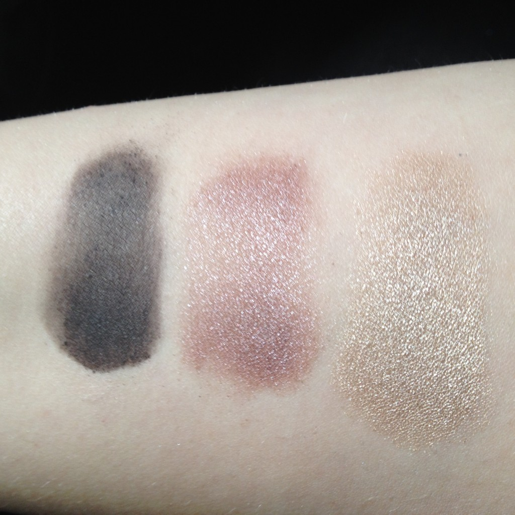 MUA Glamour Days swatches 3