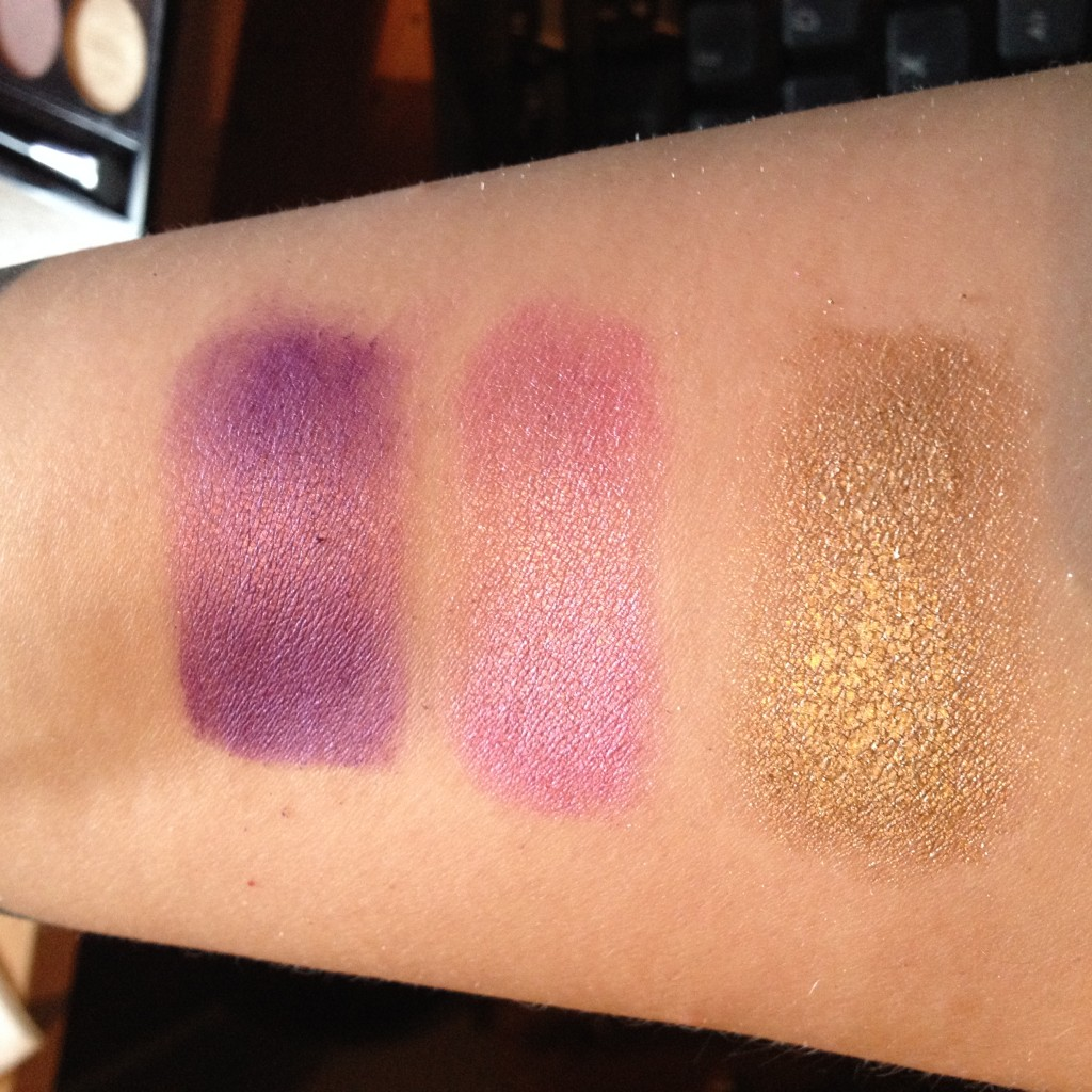MUA Glamour days swatches 4