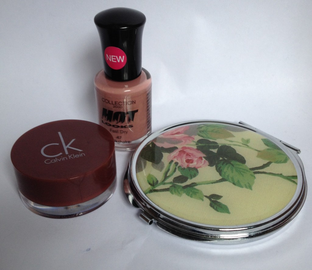 CK tempting glimmer, Collection hot looks and compact mirror