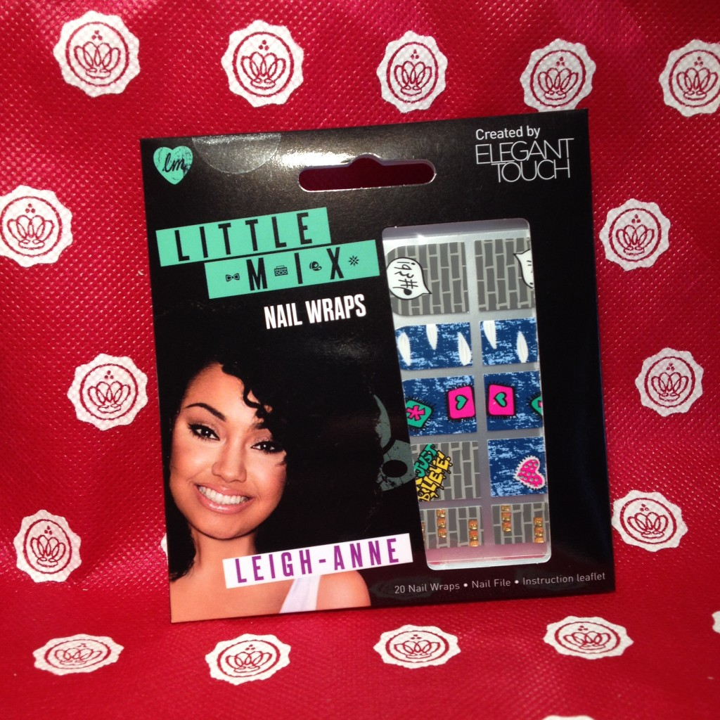Little Mix Nail Wraps Leigh