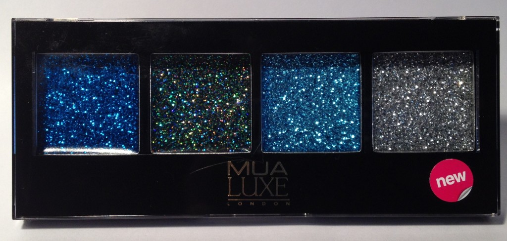 MUA Luxe Glitter Eyes Rock Chick