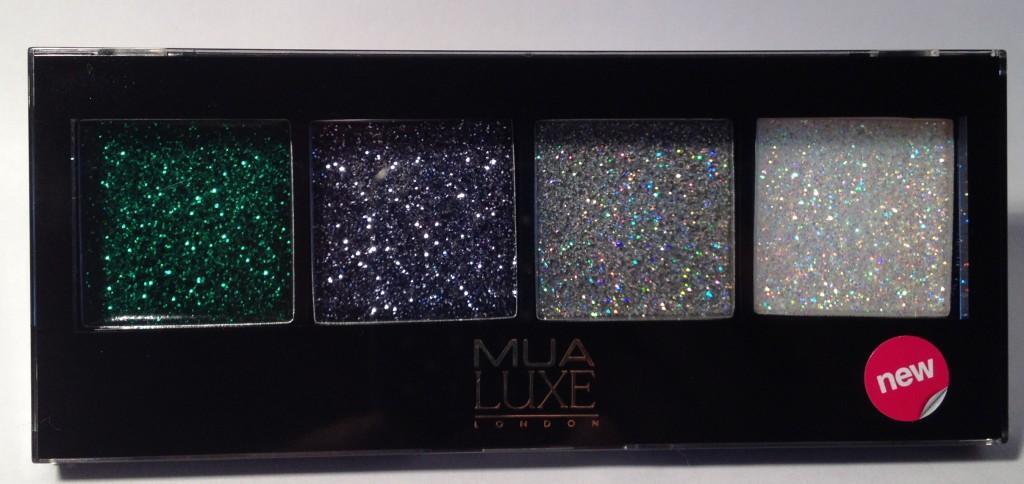 MUA Luxe Glitter Eyes Diva