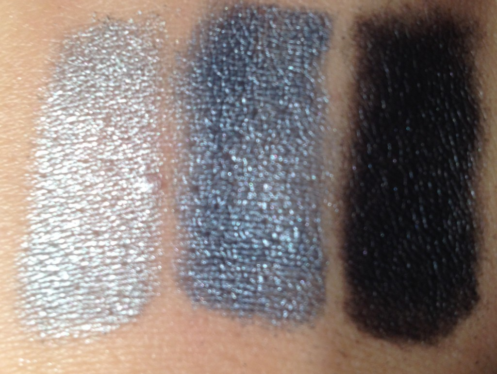 MUA starry night swatches 2