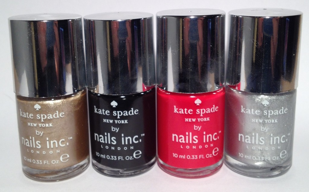 Kate Spade for Nails Inc Glamour promotion