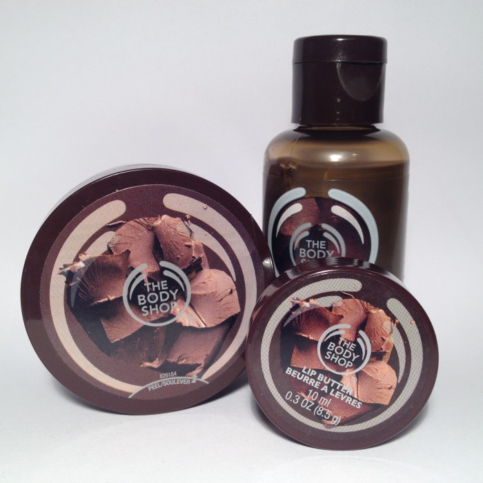 The Body Shop Chocomania Minis