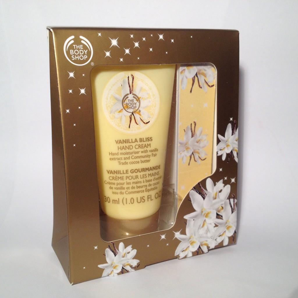 The Body Shop Vanilla Bliss Manicure Set