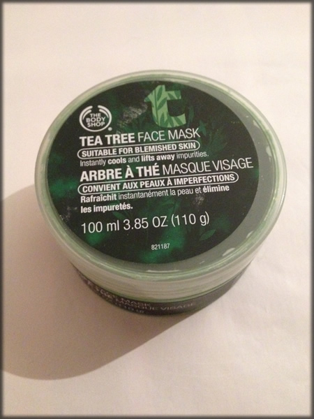 teatree face mask