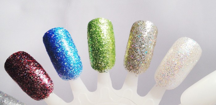 Jess glitter  nail varnish
