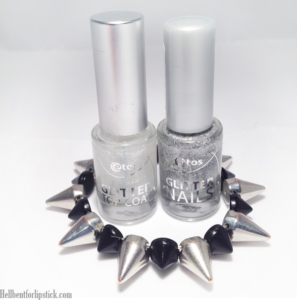 Etos Glitter Nails