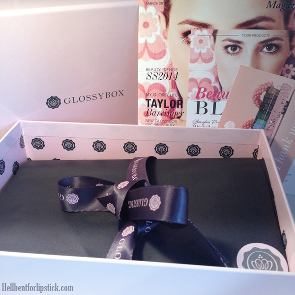 Glossybox March 2014 Review