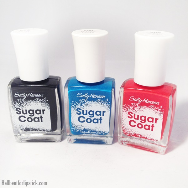 Sally Hansen Sugar Coat Lick-O-Rich, Razzleberry and Cherry Drop