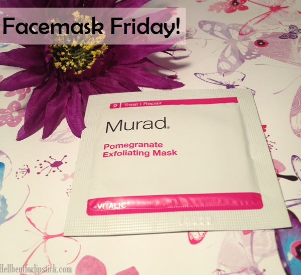 Murad Pomegranate Exfoliating Mask Review