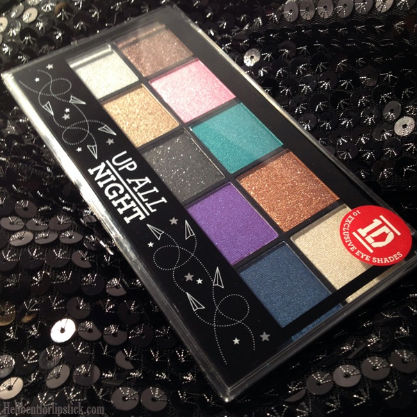 MUA Up All Night Eyeshadow Palette Review and Swatches