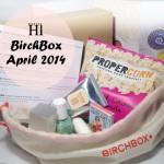 Birchbox April 2014 Review