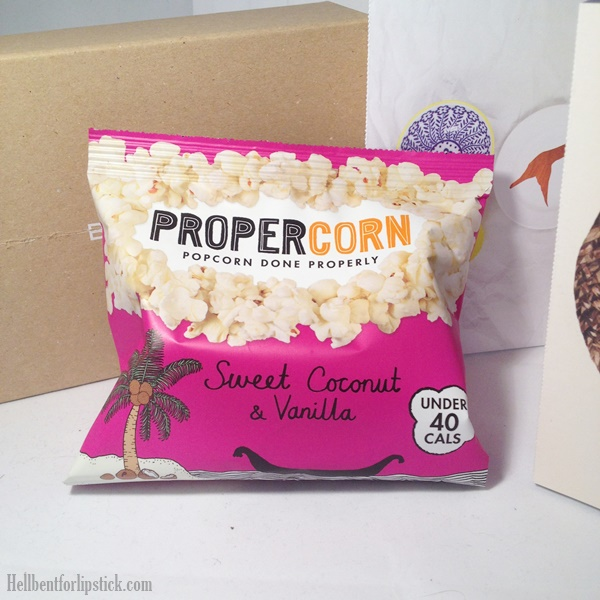 Birchbox April 2014 Propercorn Sweet Coconut & Vanilla