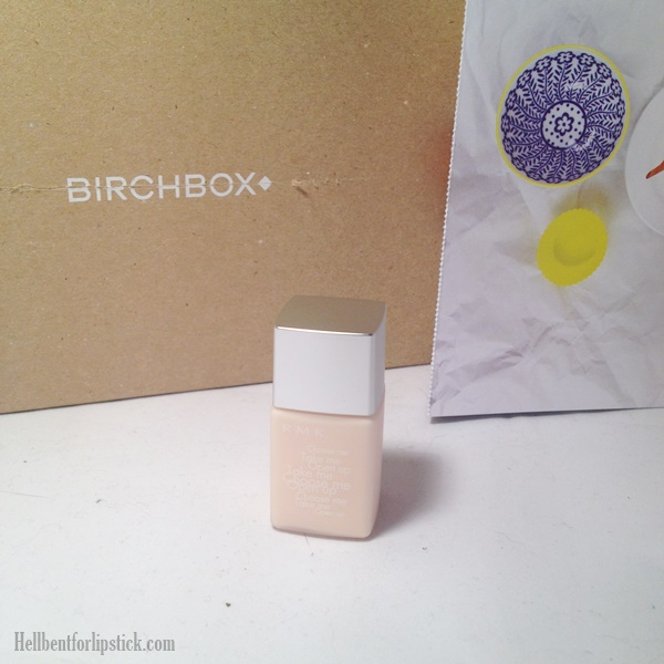 April 2014 Birchbox RMK Make up base