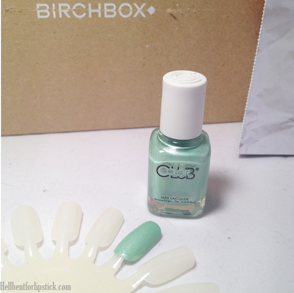 Birchbox April 2014 Colour Blum Gala's Gems Nail Polish In Breakfast at...