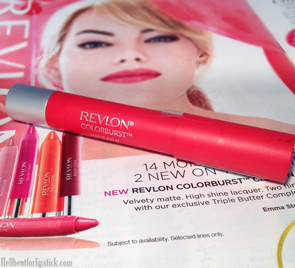 Revlon Colourburst Matte Balm in Striking