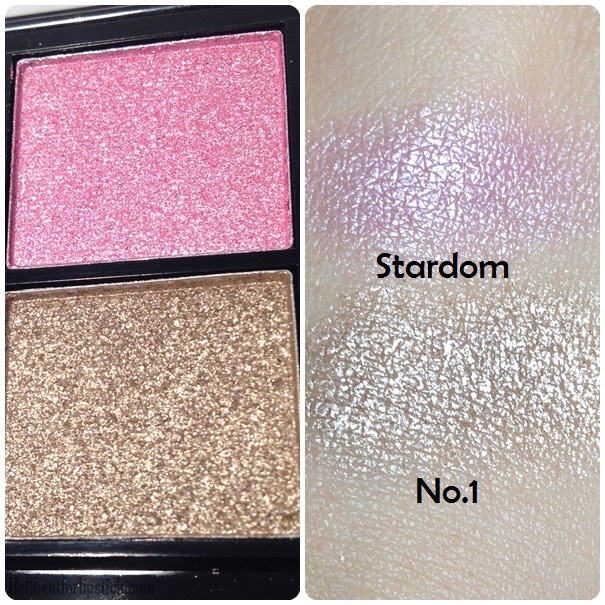 MUA up all night swatches 2