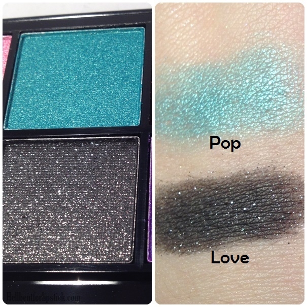 MUA up all night swatches 3