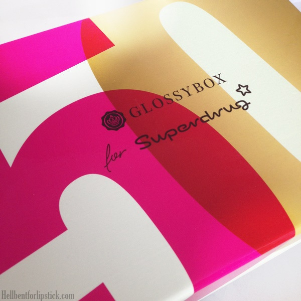 Glossybox May 2014 - Summer Beauty Edit With Superdrug