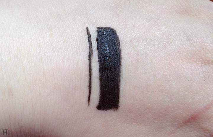 Rimmel Scandaleyes Gel liner swatch