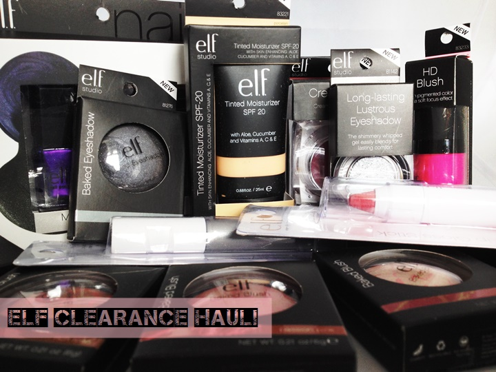 ELF Eyes Lips Face Clearance Haul