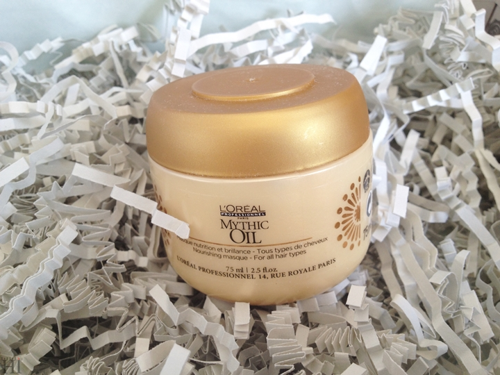 Glossybox September 2014 mythic masque