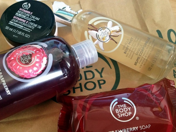 The Body Shop Mini Haul