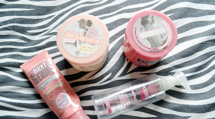 September Empties - Soap and Glory