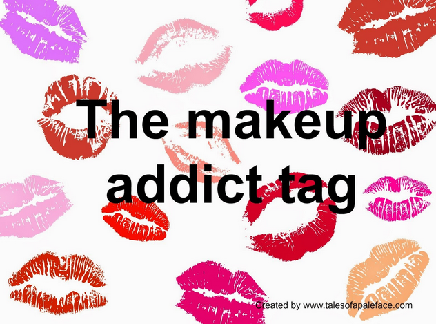 The Make-up addict tag