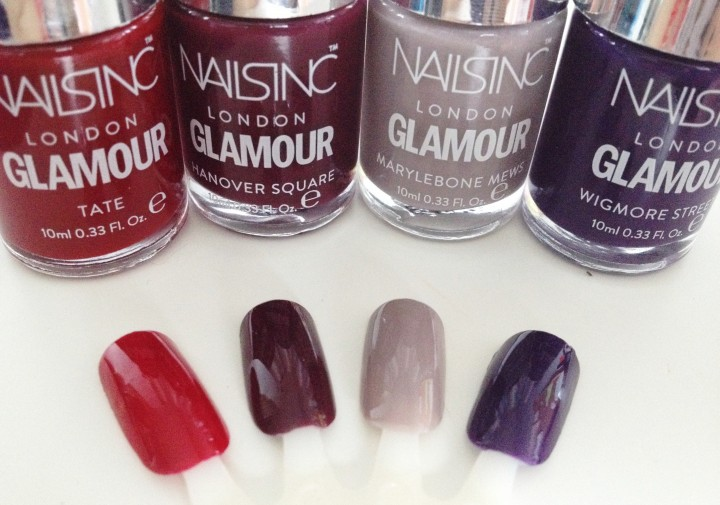 Free Nails Inc with glamour magazine